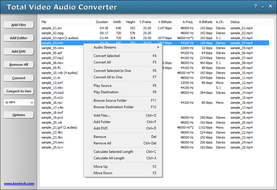 Total Video Audio Converter full screenshot